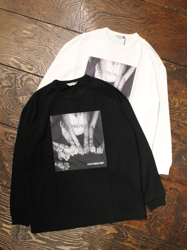 COOTIE  「Print L/S Tee (CHOLA) 」 プリントロンティー