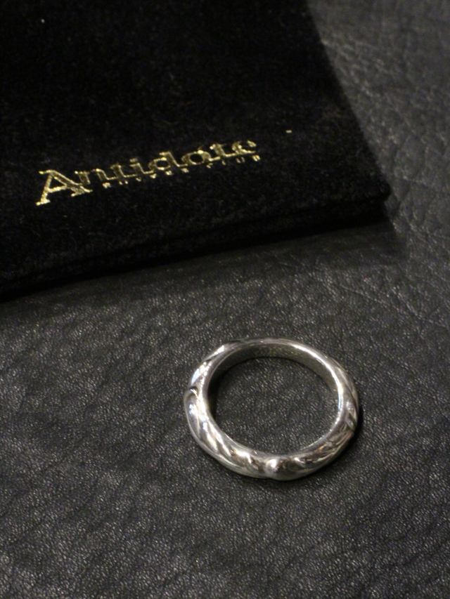 ANTIDOTE BUYERS CLUB   「Ornament Ring」 SILVER950製 リング
