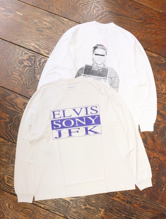 Black Weirdos  「 ELVIS SONY L/S Tee 」 ロングスリーブティーシャツ