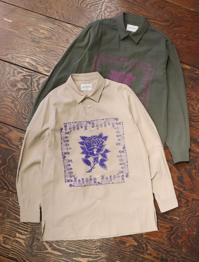 Black Weirdos  「 Bandana Shirt 」 スタンダードカラーシャツ