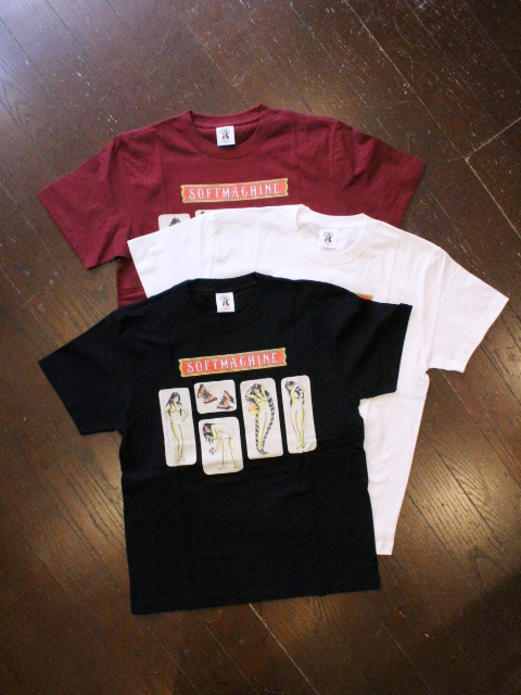 SOFTMACHINE  「RED LIGHT-T」 プリントティーシャツ