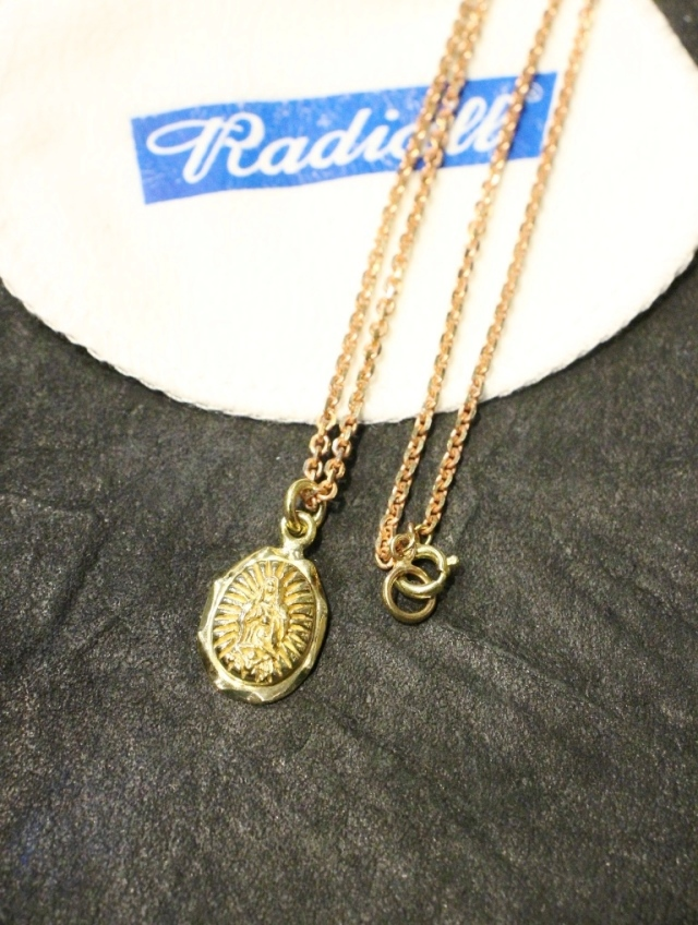 RADIALL  「LOWRIDER CHARM ‐ NECKLACE」 BRASS製 ネックレス