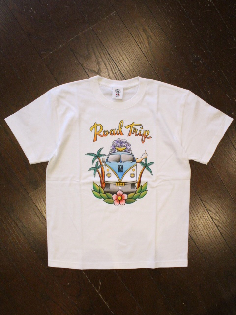 SOFTMACHINE  「ROAD TRIP-T」 プリントティーシャツ