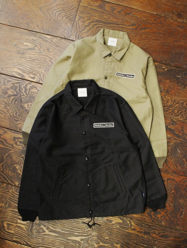 RADIALL  「SLOW BURN - WINDBREAKER JACKET」  コットンコーチジャケット