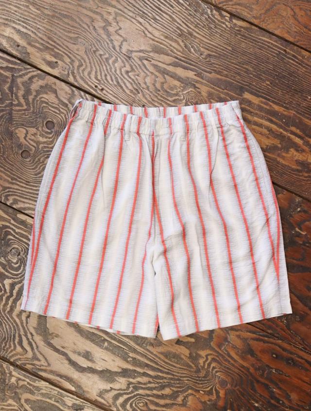 COOTIE  「Snake Stripe Easy Shorts」 ストライプイージーショーツ