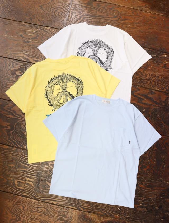 RADIALL  「PEACE ROSE - CREW NECK POCKET T-SHIRT S/S」  ポケットティーシャツ