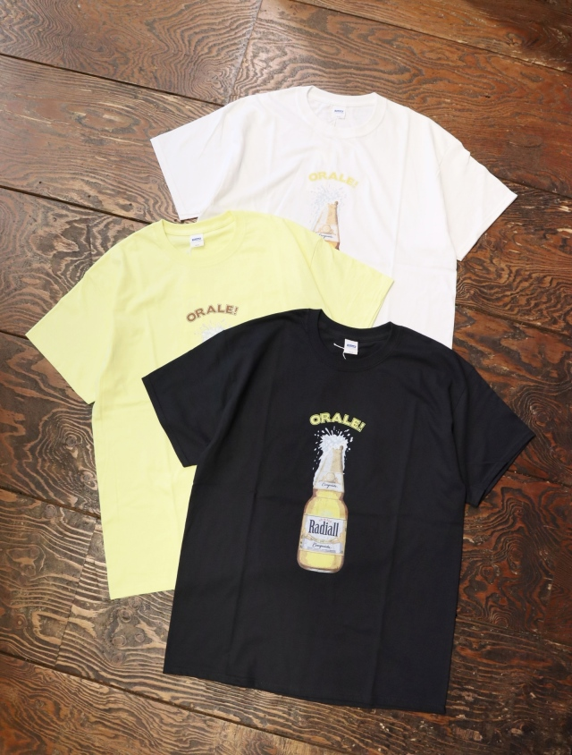RADIALL  「ORALE - CREW NECK T-SHIRT S/S」  プリントティーシャツ