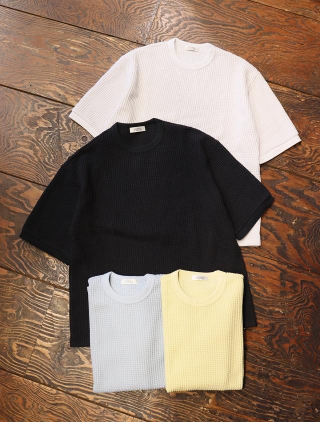 RADIALL  「BIG WAFFLE - CREW NECK T-SHIRT S/S」  ワッフルティーシャツ