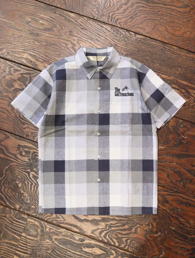 SOFTMACHINE  「TWEEDY SHIRTS S/S」 チェックシャツ