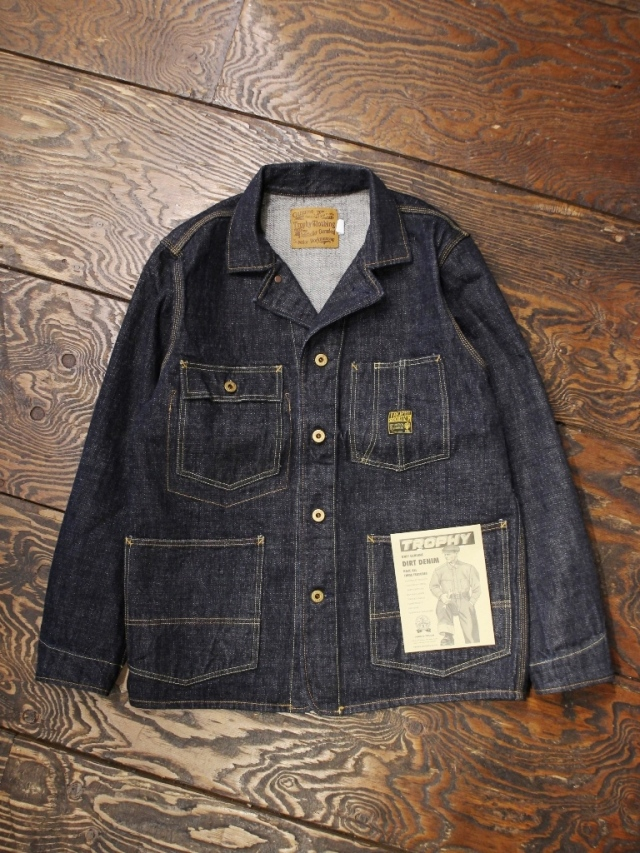 TROPHY CLOTHING  「2604 Dirt Denim Coverall」  デニムカバーオール