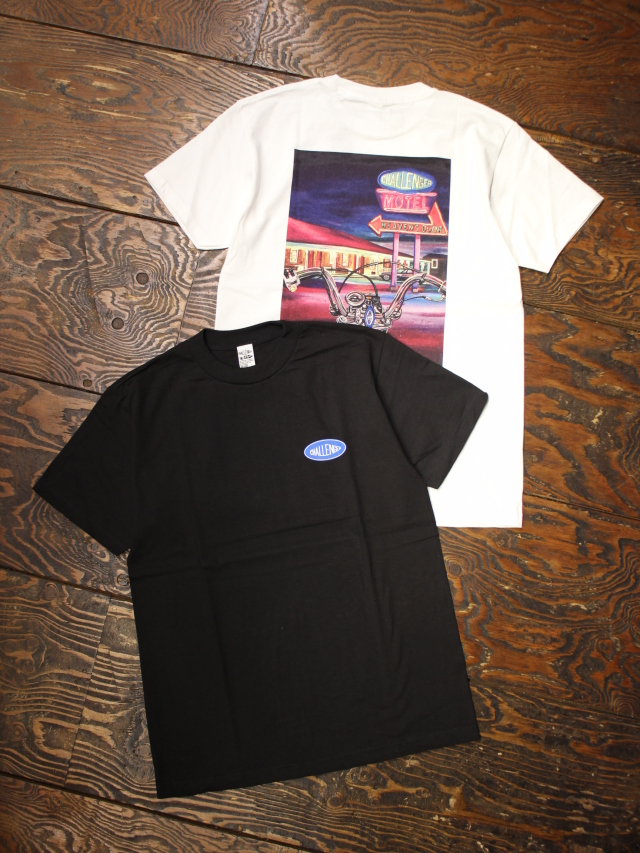 【 2月27日 発売開始 !! 】 CHALLENGER  「DAX TEE」  プリントティーシャツ