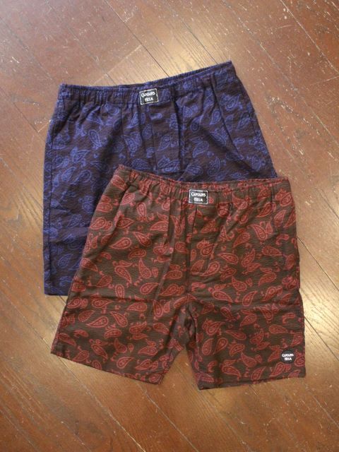 CAPTAINS HELM 「#PAISERY SEERSUCKER SHORTS」 イージーショーツ