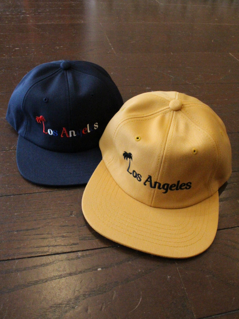 CAPTAINS HELM 「#Los Angeles Souvenir CAP」 フラットバイザーキャップ