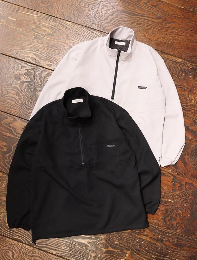 RADIALL  「TARIKA - STAND COLLARED PULLOVER SHIRT L/S」  プルオーバースタンドカラーシャツ
