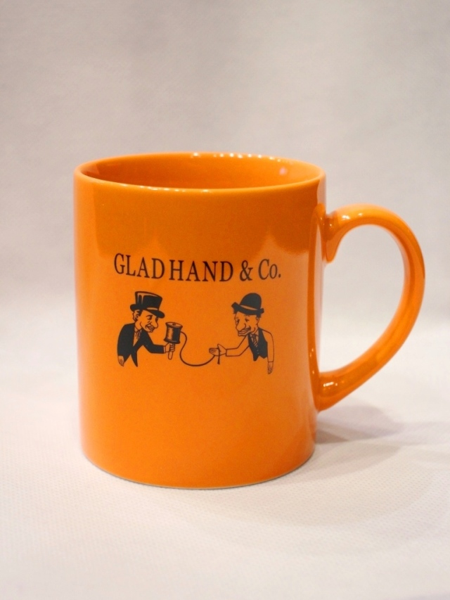 "GLAD HAND  「MUG ""10th ANNIVERSARY"" 」  10周年記念マグカップ"