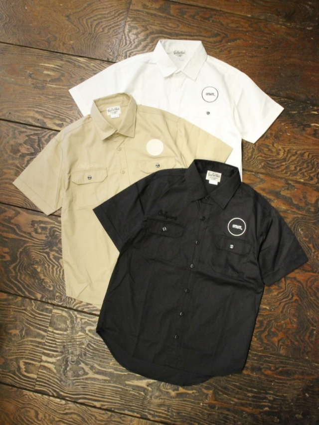 CUT RATE  「LOGO WAPPEN WORK SHIRT 」   ワークシャツ