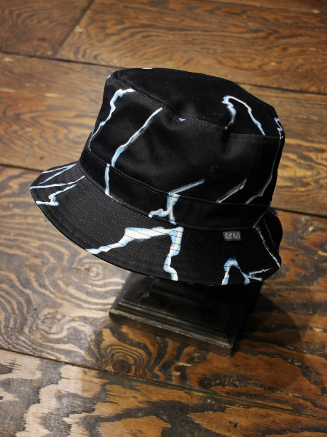 CUT RATE  「THUNDER PATTERN BUCKET HAT」   バケットハット