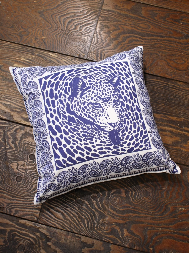 SOFTMACHINE   「BLEND BANDANA CUSHION」 クッション