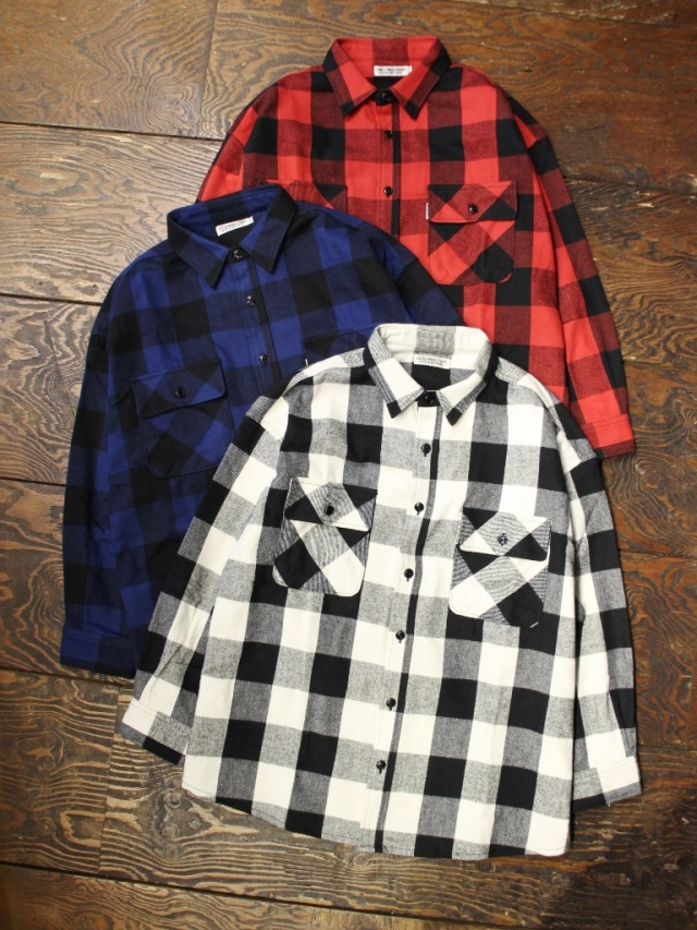 COOTIE  「Buffalo CPO Jacket」 CPOシャツジャケット