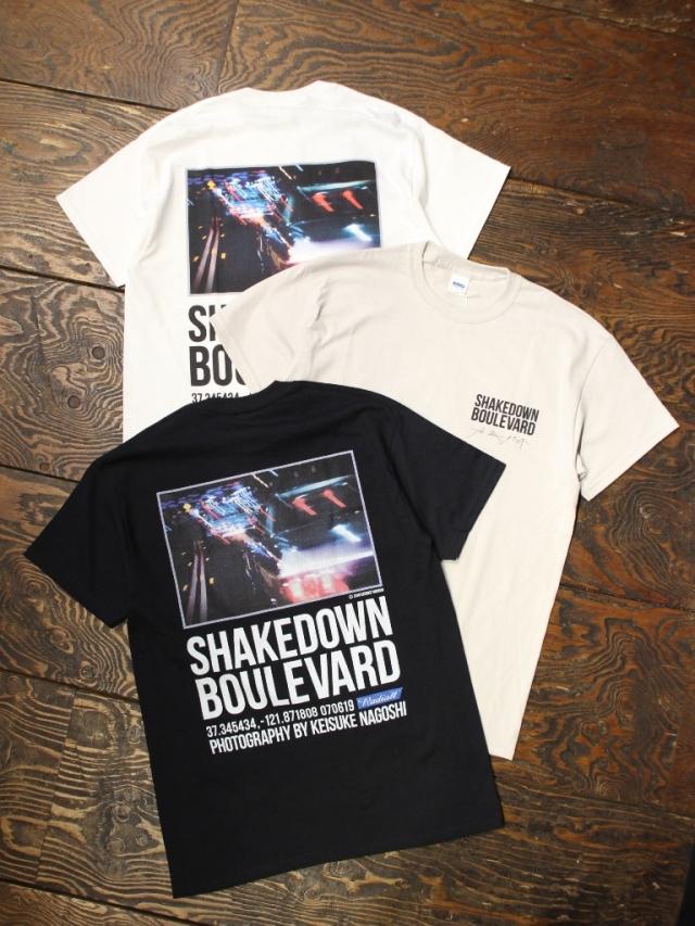 RADIALL  「BOULEVARD - C.N. T-SHIRT S/S」  プリントティーシャツ