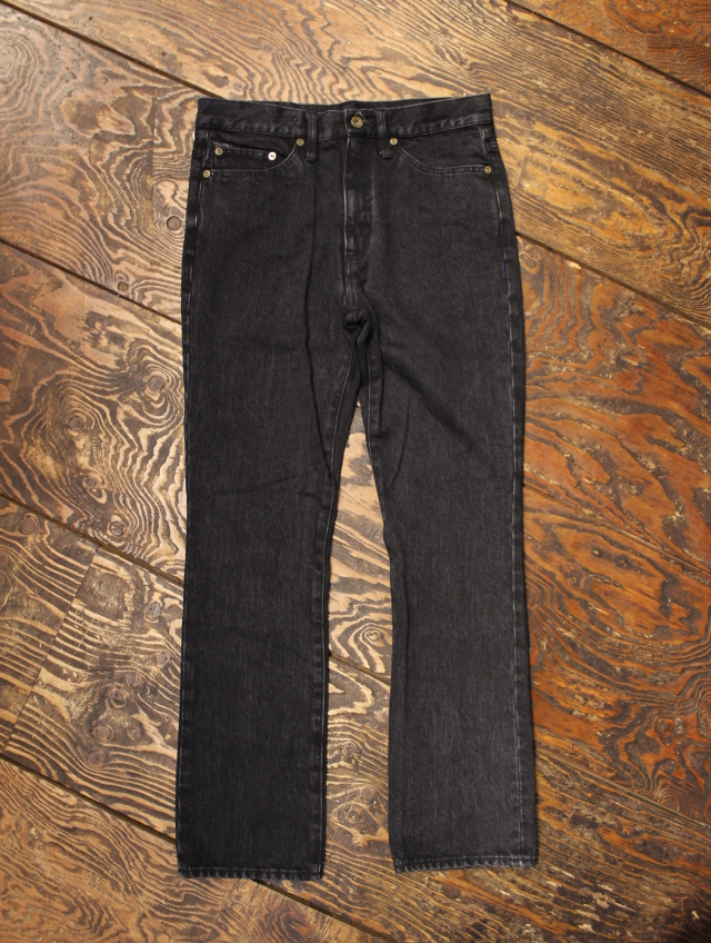 ANASOLULE    「SADDLEMAN DENIM - PT」 USED加工デニムパンツ
