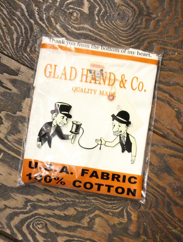 GLAD HAND  「STANDARD T-SHIRTS」  クルーネックティーシャツ