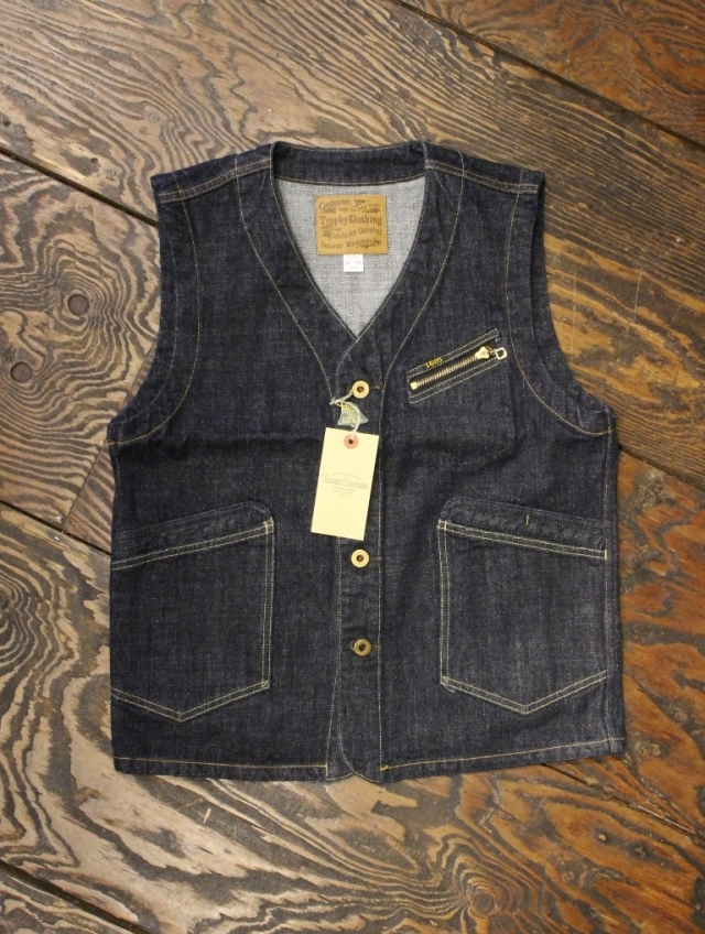 TROPHY CLOTHING   「Dirt Denim Vest」  デニムベスト