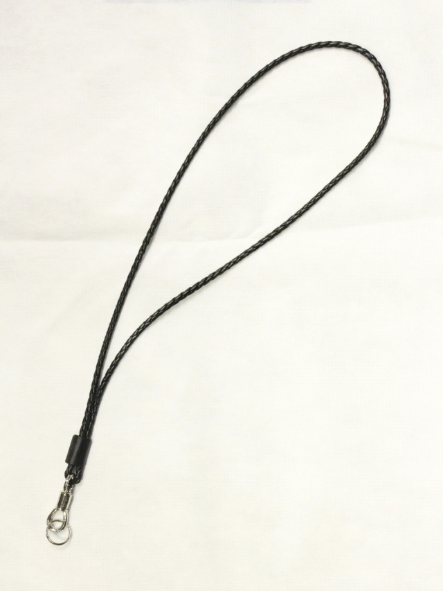 【Limited Item !!】 CALEE  「LIMITED LEATHER STRAP NECKLACE」  レザーストラップネックレス