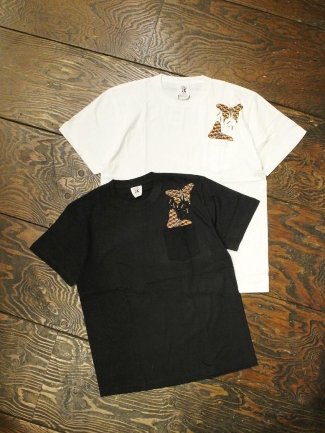 SOFTMACHINE  「GEOMETRIC BUTTERFLY-T」 ポケットティーシャツ