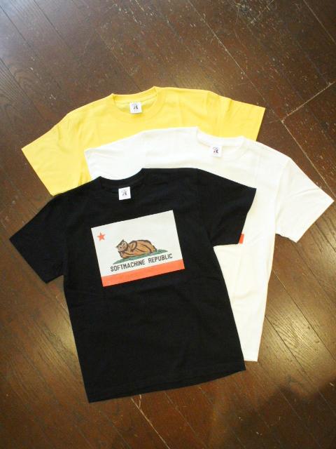 SOFTMACHINE  「CHILLIN - T」 プリントティーシャツ