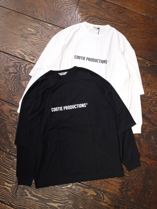 COOTIE  「Cellie L/S Tee (COOTIE LOGO) 」 ロングスリーブティーシャツ