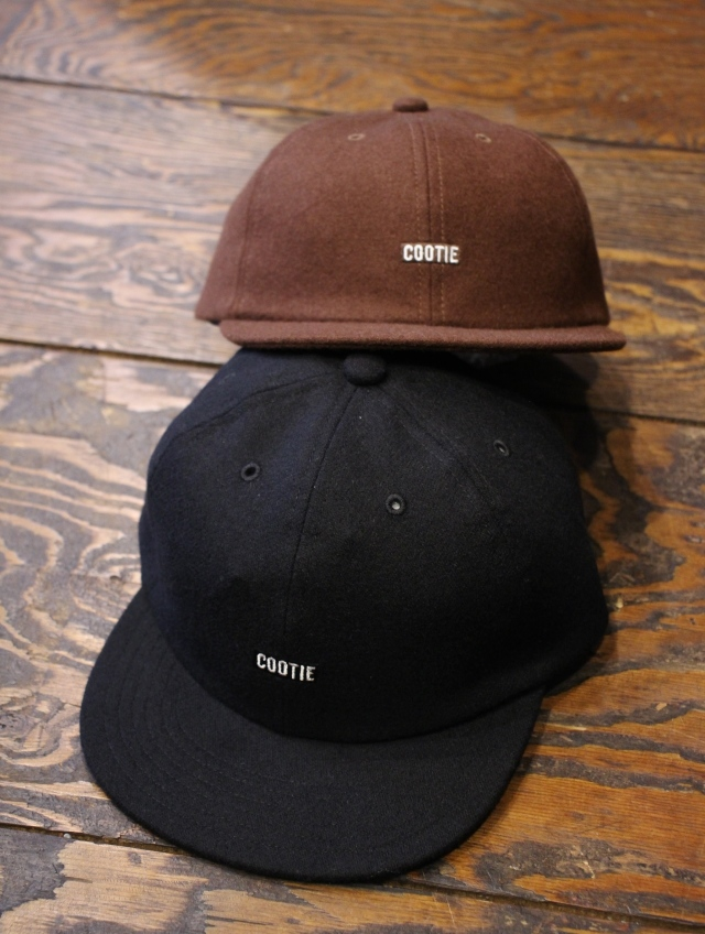 COOTIE   「Wool 6 Panel Cap 」 ウールキャップ