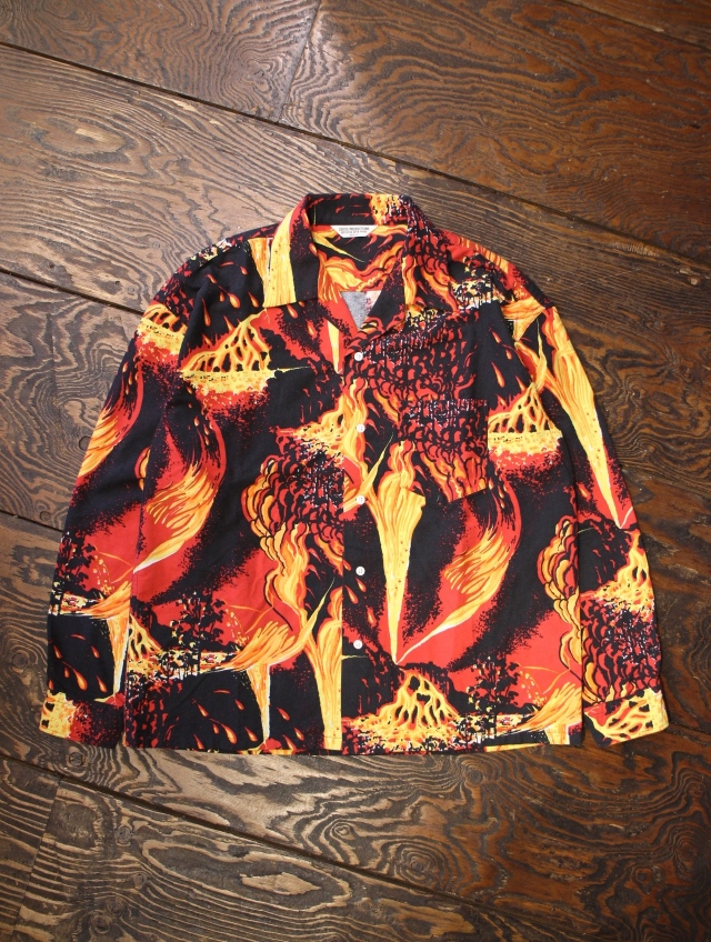 COOTIE  「Eruption Open-Neck Shirt 」 オープンカラーシャツ