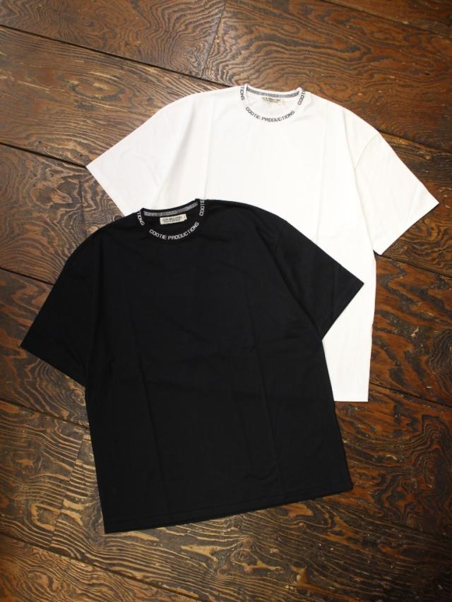 COOTIE  「 Supima Cotton Jacquard Neck S/S Tee 」 ジャガードネックティーシャツ