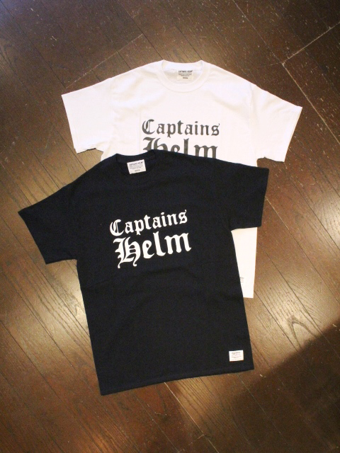 CAPTAINS HELM 「#Los Angeles TEE」 プリントティーシャツ