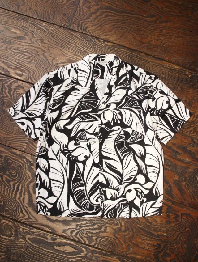 COOTIE  「Tijuana S/S Shirt」 レーヨンシャツ