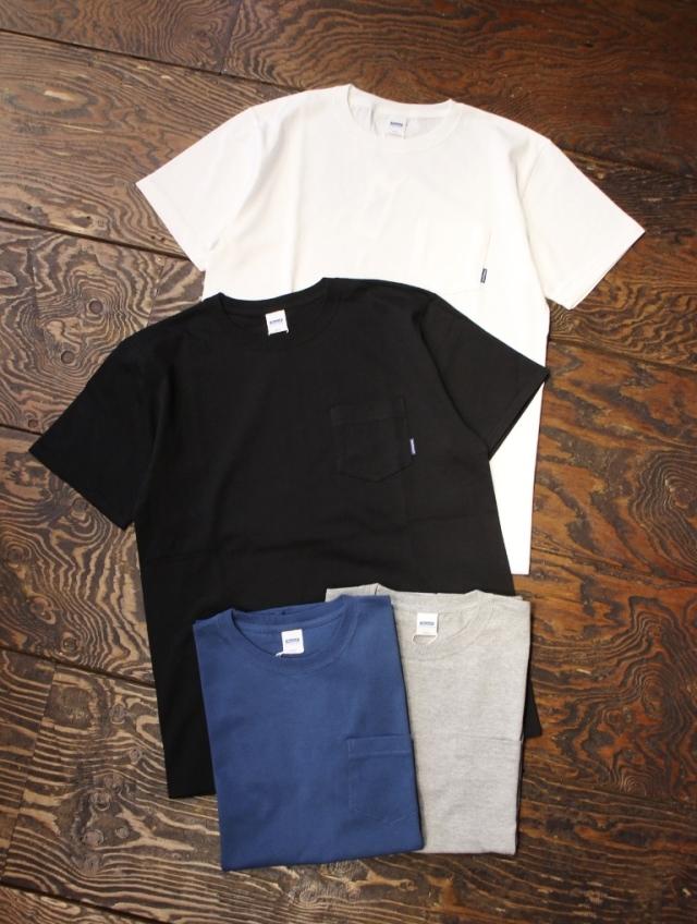 RADIALL    「PLAIN - CREW NECK POCKET T-SHIRT S/S」 ポケットティーシャツ