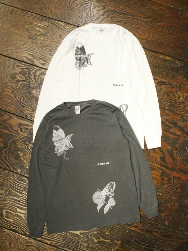 CHALLENGER    「L/S ALOHA TEE」 プリントロンティー