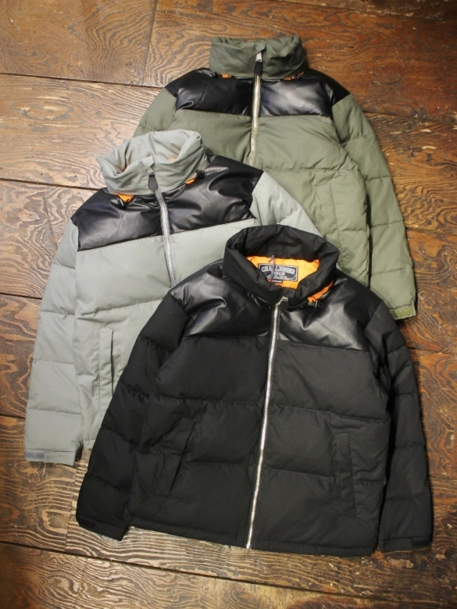 CHALLENGER    「MILITARY DOWN JACKET」  ダウンジャケット