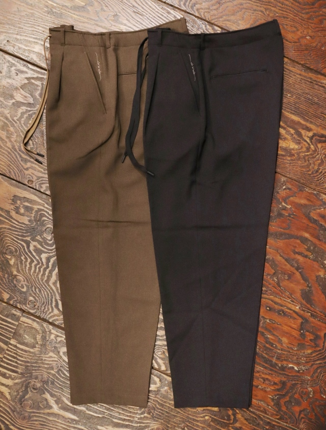 RADIALL   「LO-N-SLO - WIDE FIT TROUSERS 」 イージータイプ トラウザーズ