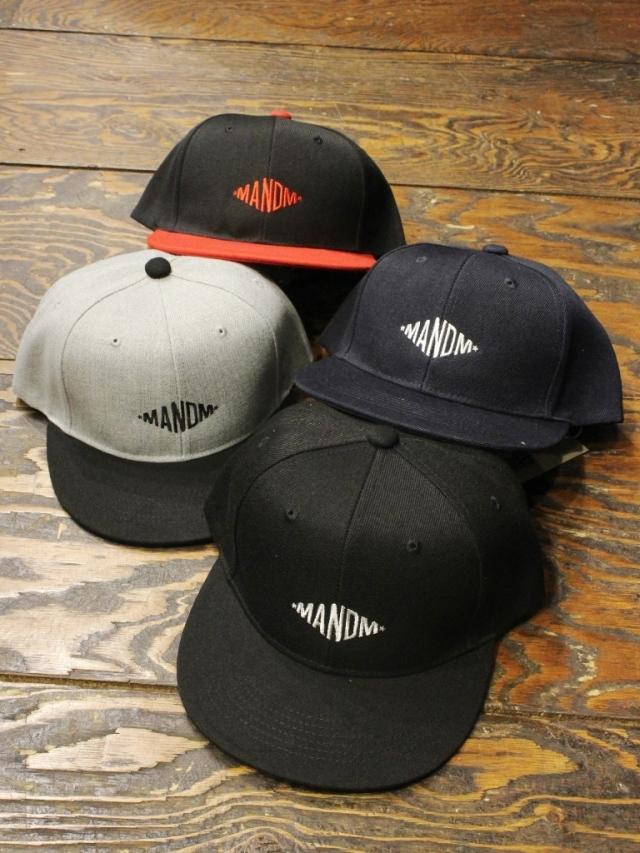 【 11月17日 発売!】 M&M CUSTOM PERFORMANCE  「SNAPBACK BB CAP」 ベースボールキャップ