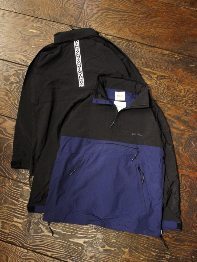 RADIALL  「RED WOOD - PULLOVER PARKA」  アノラックパーカー
