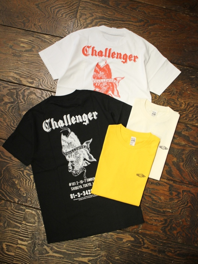 CHALLENGER    「GOLD FISH TEE」 プリントティーシャツ