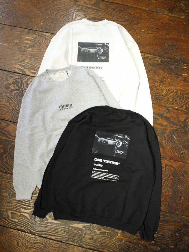 COOTIE  「 Print Crewneck Sweatshirt (JESUS) 」 クルーネックスウェット