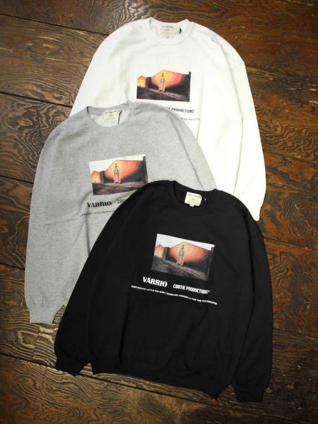COOTIE  「 Print Crewneck Sweatshirt (MARY) 」 クルーネックスウェット
