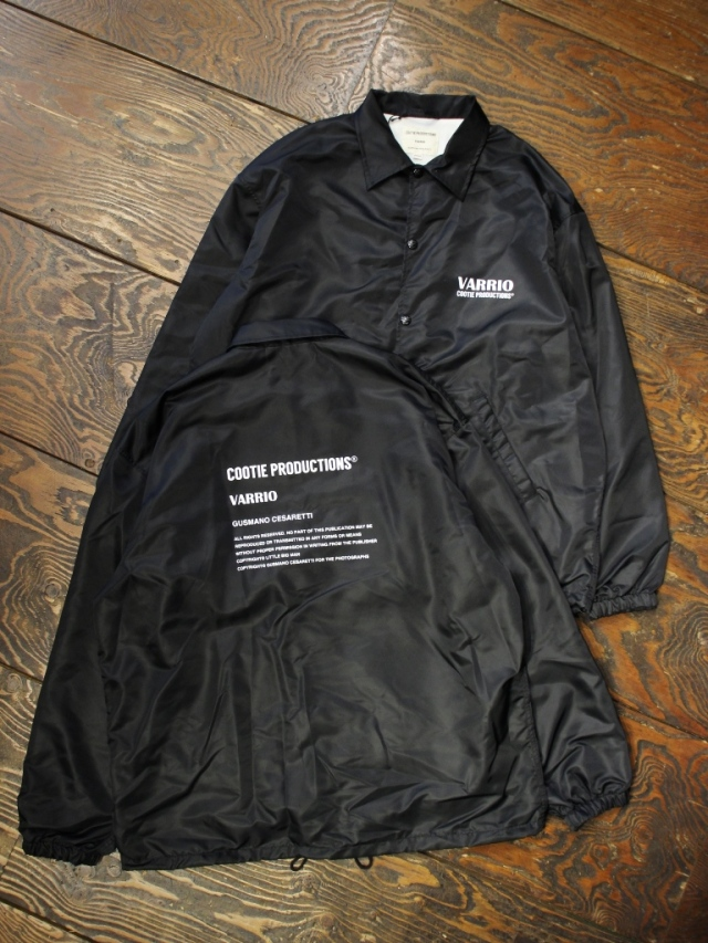 COOTIE  「 Nylon Coach Jacket (LOGO) 」 コーチジャケット