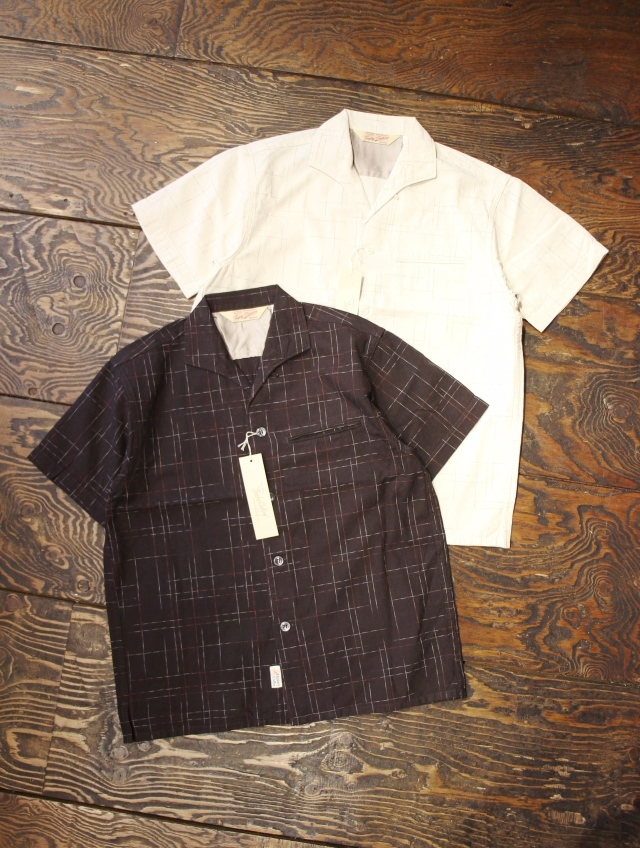 TROPHY CLOTHING  「SUNRISE SHIRT」 オープンカラーシャツ