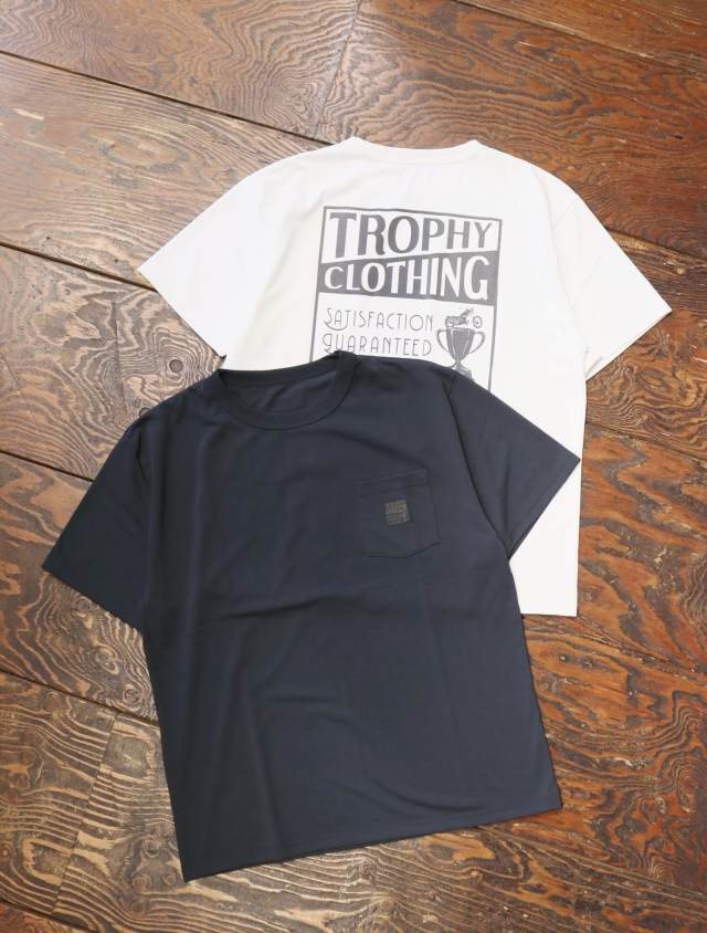 "TROPHY CLOTHING  「 ""MONOCHROME""Box Logo PC Tee 」  プリントティーシャツ"