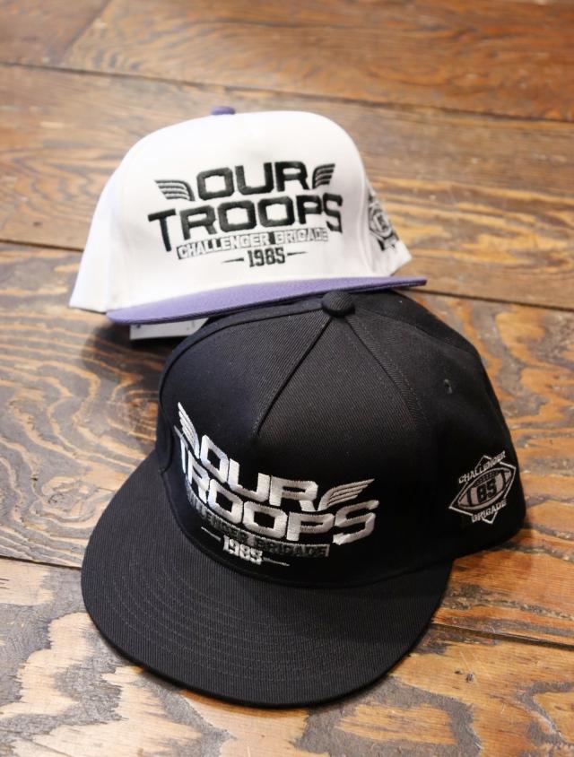 CHALLENGER  「TROOPS CAP」  スナップバックキャップ