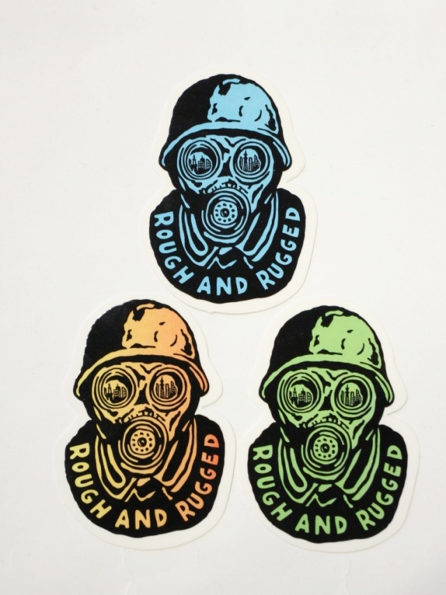 ROUGH AND RUGGED  「 RR×NUTS STICKER」  ステッカーセット